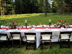 meadow wedding