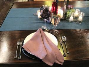 Valhalla wedding table